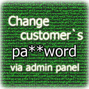 Set or update customer password via admin panel for Magento 2